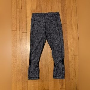 Lululemon Pace Rival Crop Leggings